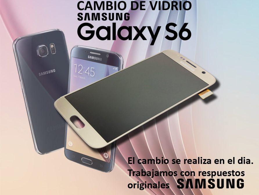 Cambio De Vidrio Samsung Galaxy S6 Flat Repuesto Original