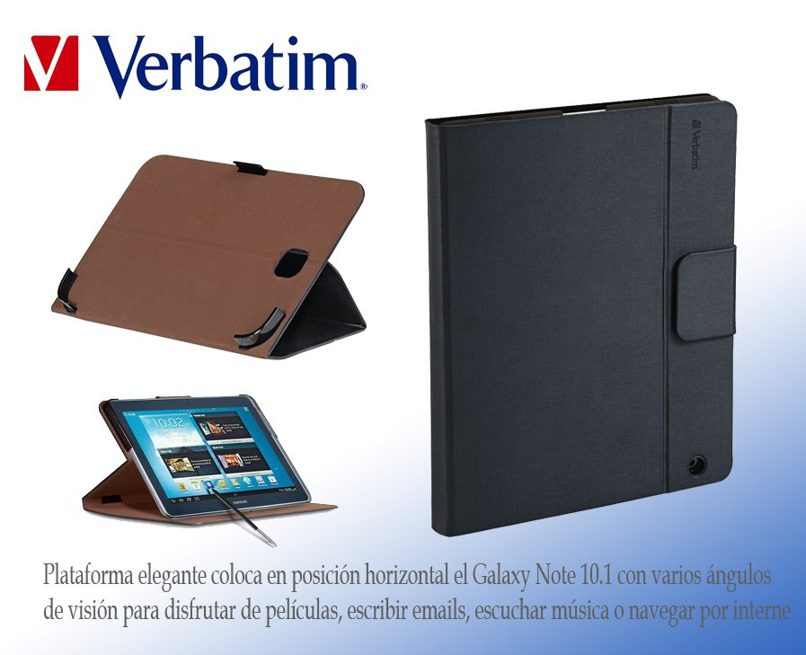 Funda Folio Case Verbatim Galaxy Note 10.1