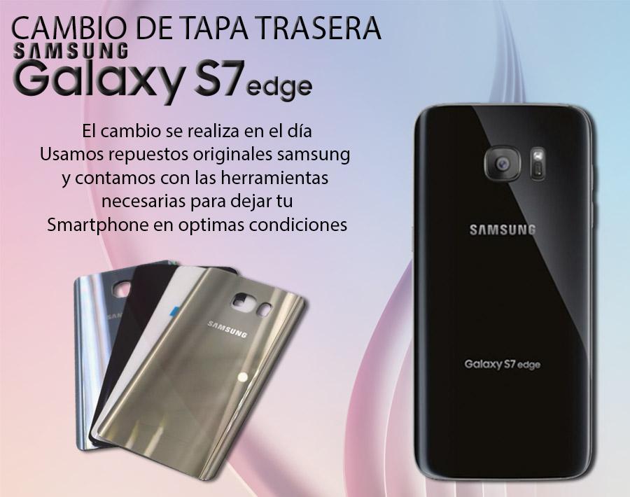 Tapa Carcasa Original Samsung Galaxy S7 Edge Varios Colores