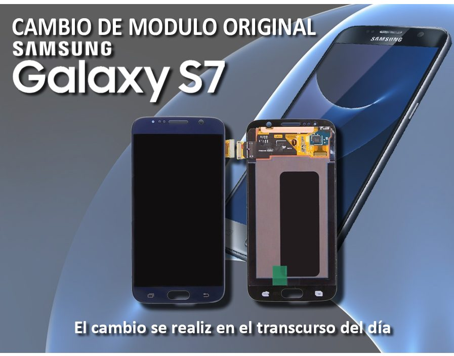 Pantalla, Modulo Display Samsung S7 Original+instalación.l