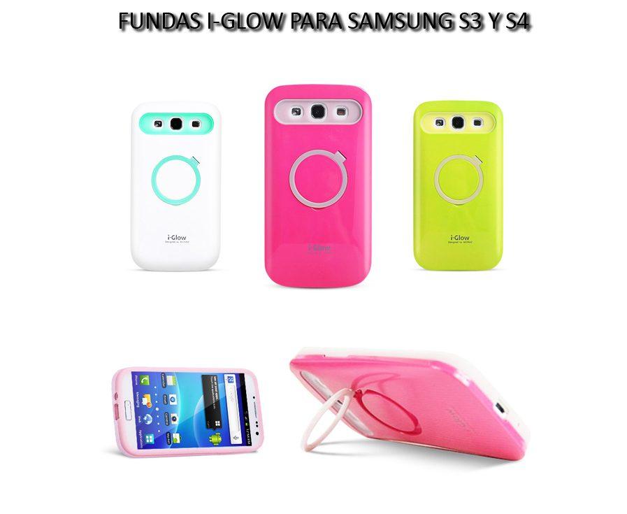 Funda Alto Impacto I-glow Samsung S3/s4 Original