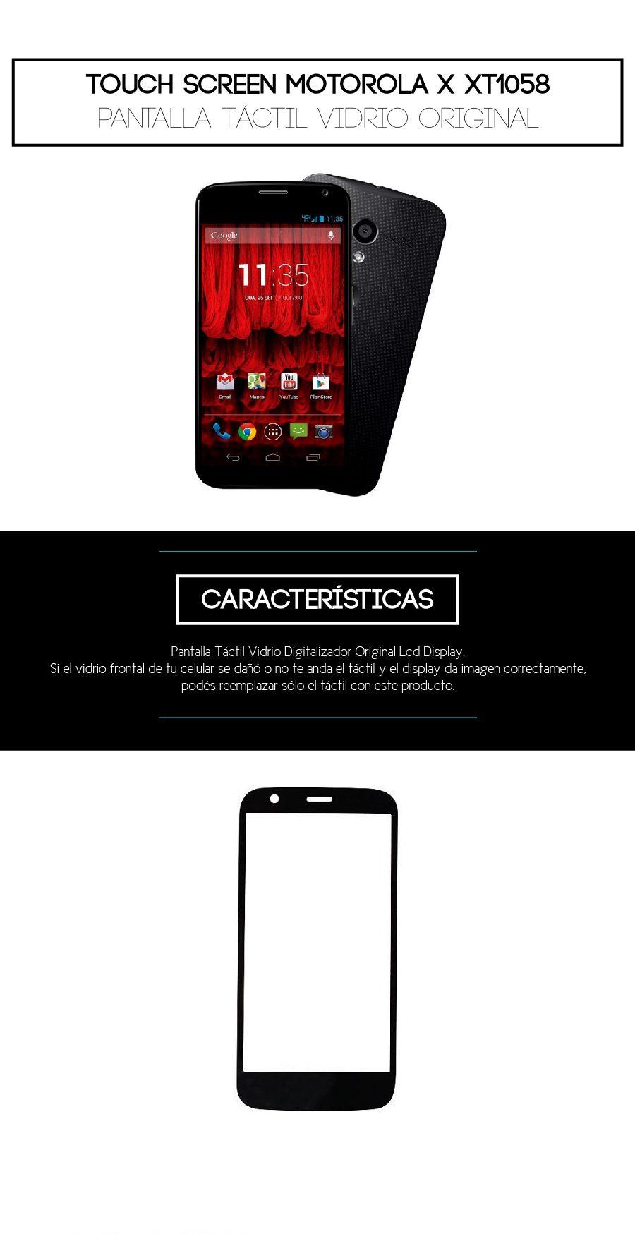 Cambio de Display LCD, vidrio y táctil Moto X