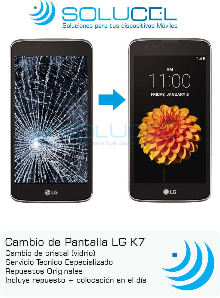 Display completo LG K7 Original