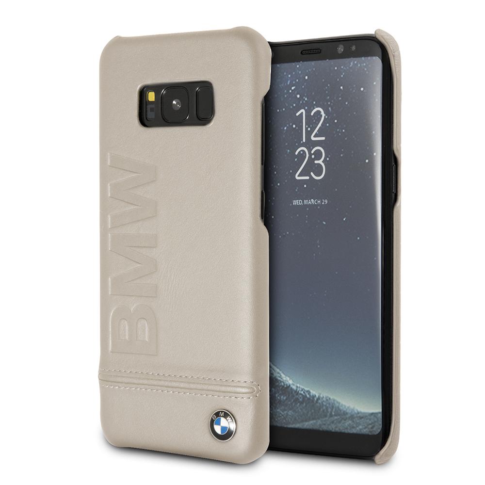Funda Case Premium Bmw De Cuergo Genuino Para Samsung S8