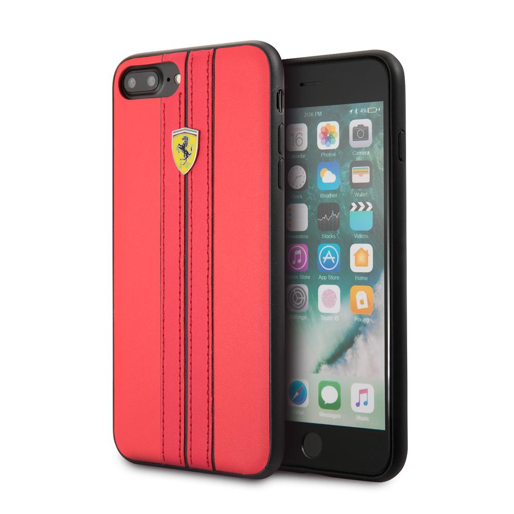 Funda Case Premium Ferrari de Cuero Sintetico para Iphone 8,7,6s,6 Plus