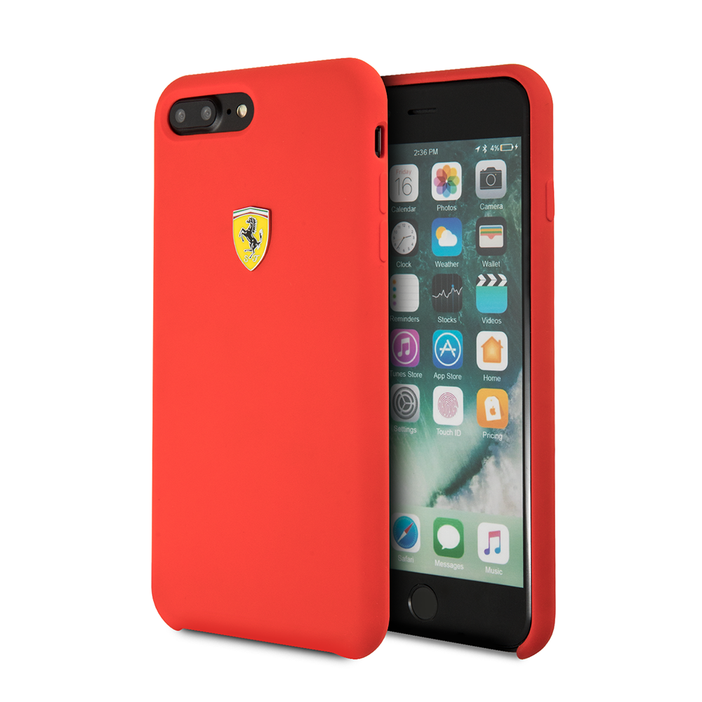 Funda Case Premium Ferrrari de Silicona Para Iphone 8,7,6s,6 Plus